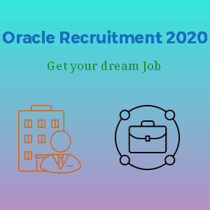 Oracle Recruitment 2020