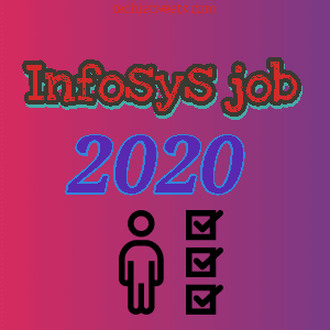 Infosys Recruitment 2020