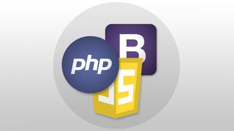 JavaScript, Bootstrap, PHP