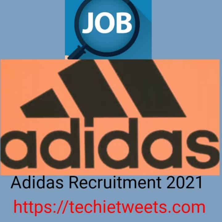 Adidas Job Recruitment 2021