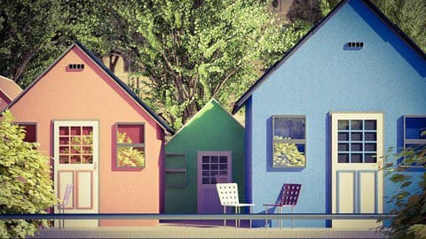 Exterior Visualization with Blender