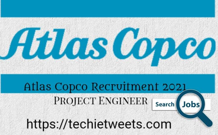Atlas Copco Job Recruitment 2021