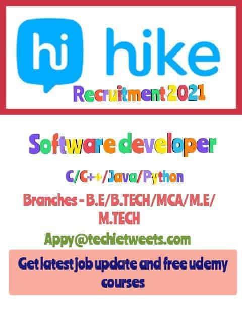 Hike Messenger job