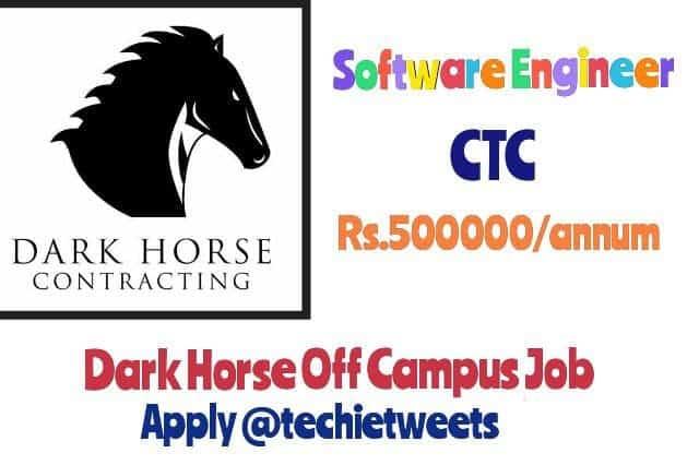 Dark Horse Job