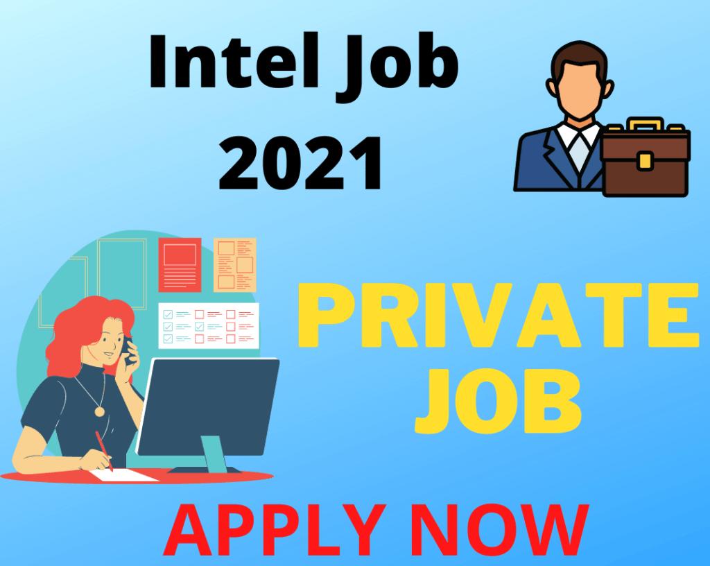 Intel Job Opening