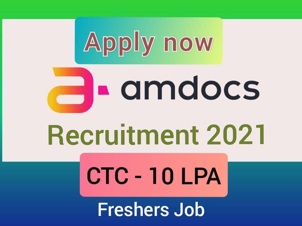 Amdocs recruitment