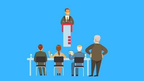 Free Udemy public speaking course