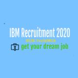 IBM Recruitment 2020 | BE/B.Tech/MCA |Software Developer Good Luck