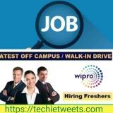 Wipro Job Recruitment 2021   Test Engineer   BE/B.Tech   CSE,IT,ECE 2021