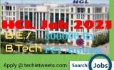 HCL Job Recruitment 2021   C++ Developer   BE/B.Tech/ME/M.Tech