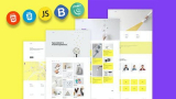 100% Free-Build a real world responsive website with Html 5 css 3 & JS